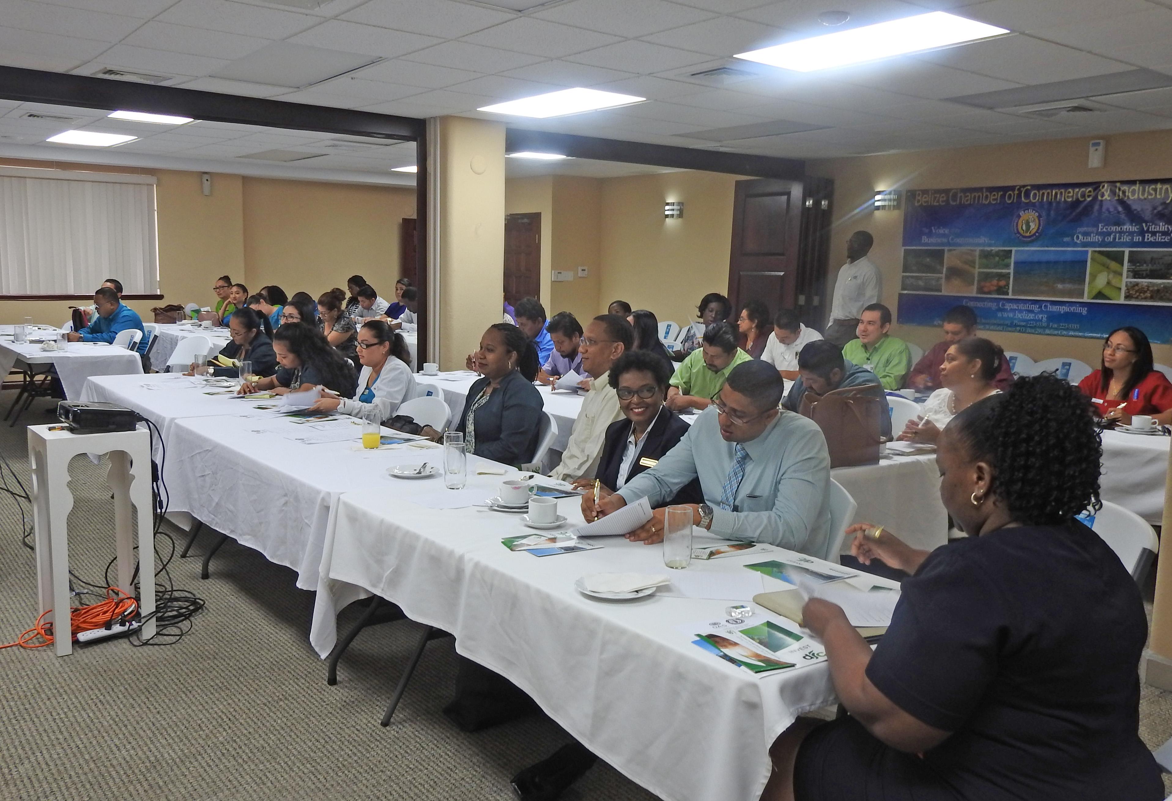 OAS Belize Office Partnered with Belize Chamber of Commerce to Celebrate OAS' 70th Anniversary